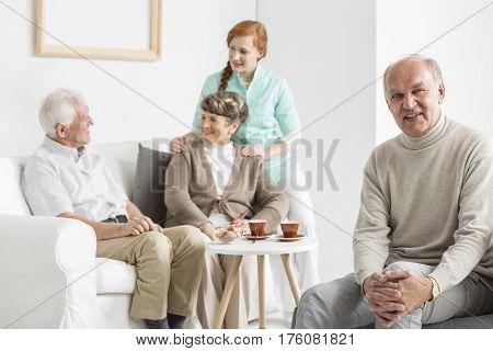 Older People In Nursing Home