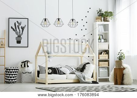 Modern Baby Bedroom In White