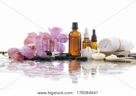 Beautiful spa composition isolated