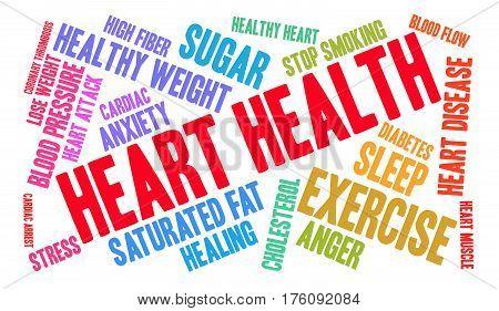 Heart Health Word Cloud