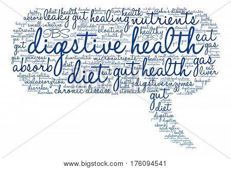 Digestive Health Word Cloud
