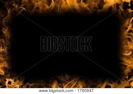brennende Hintergrund