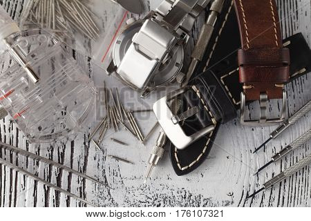 The Process Of Repairing Watches