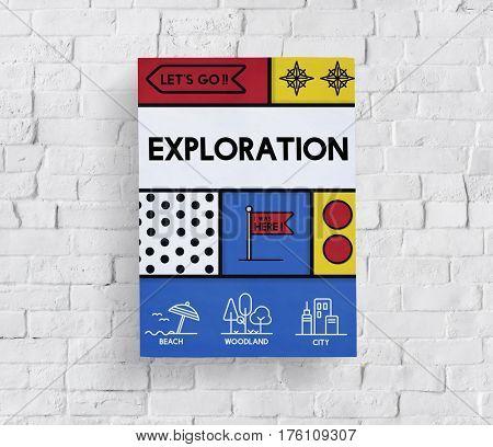 Travel Exploration Expedition Excursion Voyage Graphic