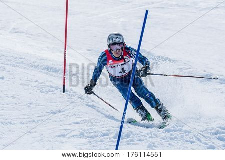 Mario Carvalho During The Ski National Championships
