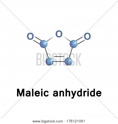 Maleic anhydride is the acid anhydride of maleic acid. It is a colorless or white solid with an acrid odor. It is produced industrially on a large scale for applications in coatings and polymers