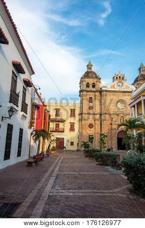 San Pedro Claver Church View