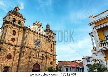 Church And Beautiful Sky