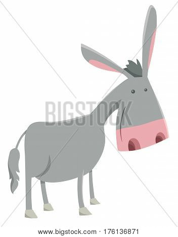 Donkey Farm Animal Character
