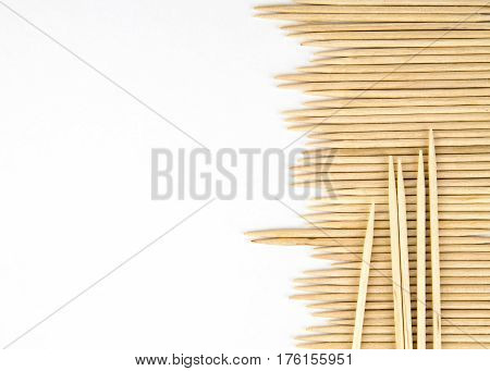 abstract card Toothpick background with space for text