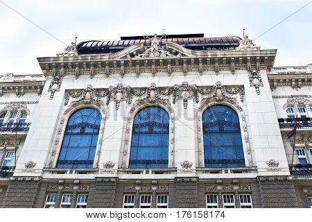 Old secession building in a Belgrade center
