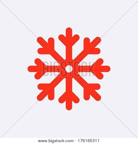 scresnowflake icon stock vector illustration flat design