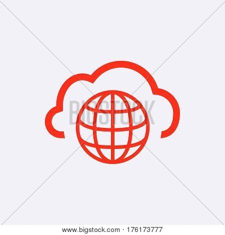 web icon stock vector illustration flat design