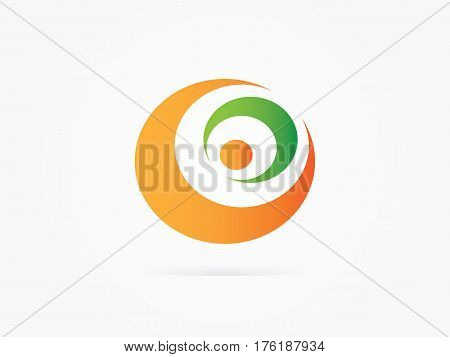Vector Illustration Crescent moon star icon for businnes website or app logo