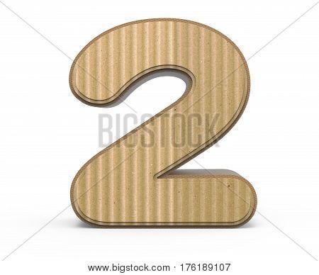 Corrugated Number 2