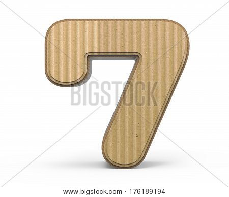 Corrugated Number 7