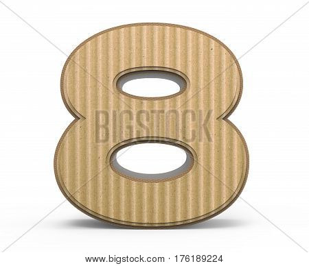 Corrugated Number 8