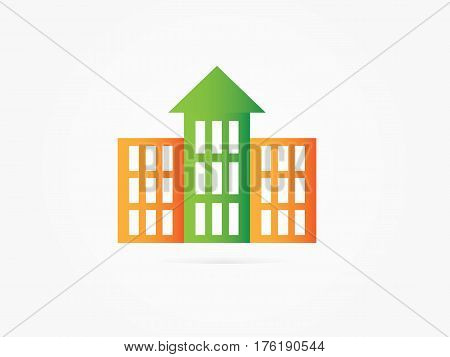 Vector Illustration Apartment icon. Apartment vector isolated