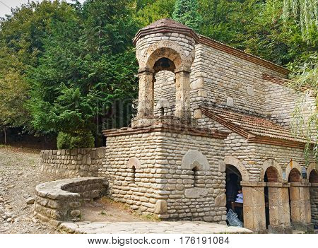 Chapel Of St. Zabulon And St. Sosana And House St. Nino's Spring St. George's Church In Monastery Of