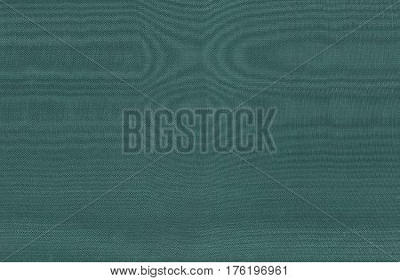 Textured vintage textile green canvas background