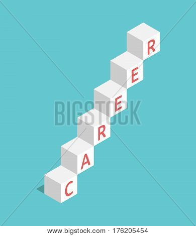 Career Ladder Of Cubes