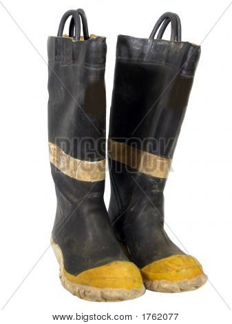 Old Fire Boots