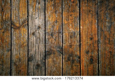 Weathered hardwood flooring surface texture bleak wooden planks background