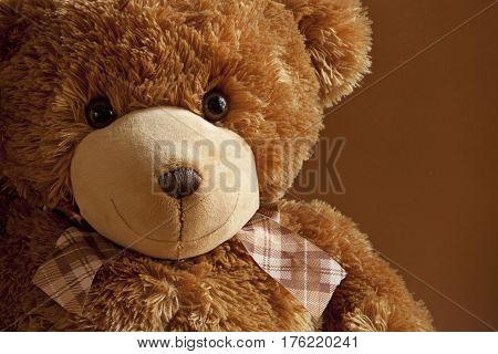 Cheerful Kind friend plush teddy bear cute toy