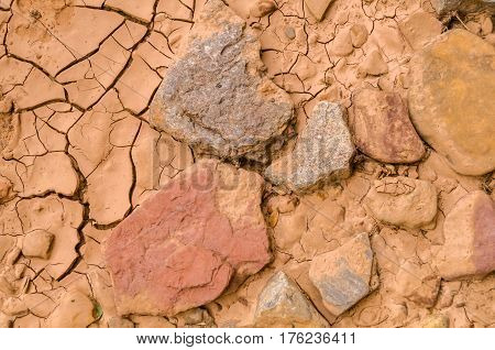Dried Riverbed at the Black Dragon Canyon