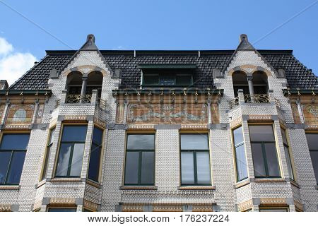 Beautiful house in the city of Groningen. The Netherlands