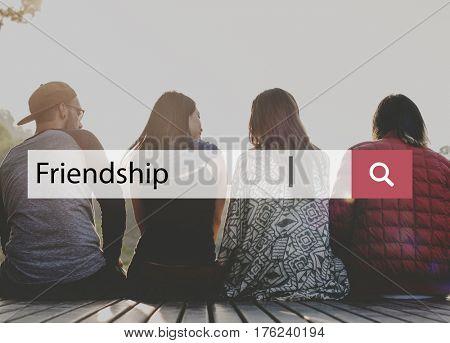 Friendship Better Together Wanderlust Concept