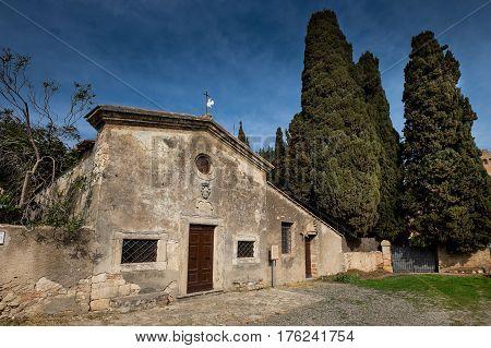 Bolgheri, Leghorn, Tuscany - Saint Anthon Church