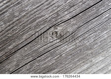 old blackened boards background closeup with knots