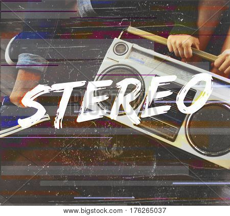 Music Tune Stereo Melody Icon