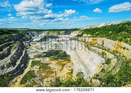 Quarry For Mining Of Dolomite