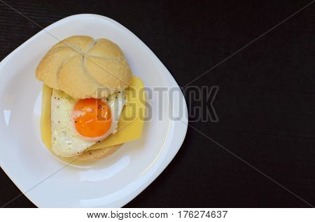 Fried Egg With Bread