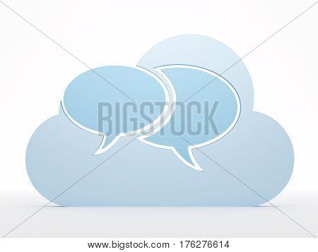 Cloud Computing, Messages