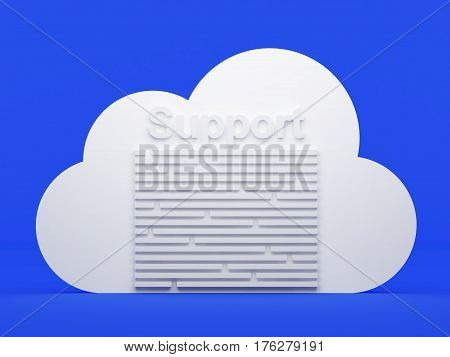 Cloud Computing, Support