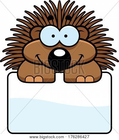 Little Porcupine Sign