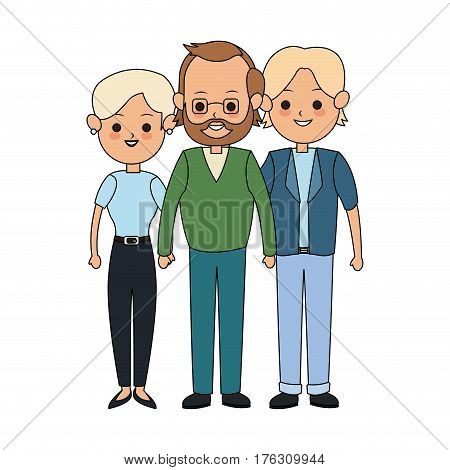 people or family members icon image vector illustration design