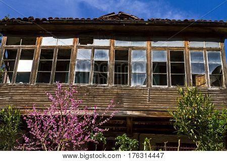 Casa antigua en Asturias Vegadotos Mieres Rioturbio