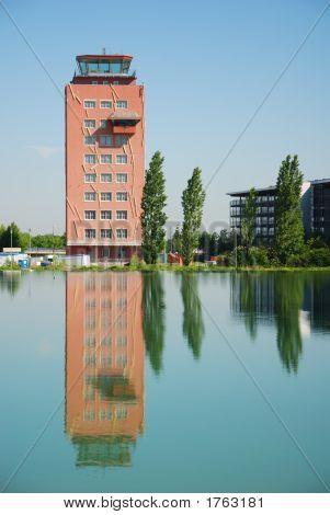 Obsolete Air Traffic Control Tower Munich Riem