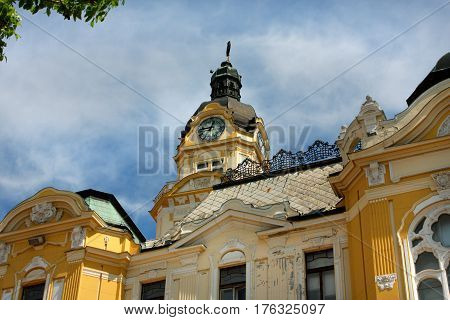 Pecs city hall building - Hungary .