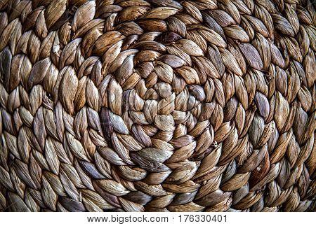 Details of woven basket useful for background