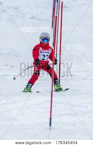 Leonor Carvalho During The Ski National Championships