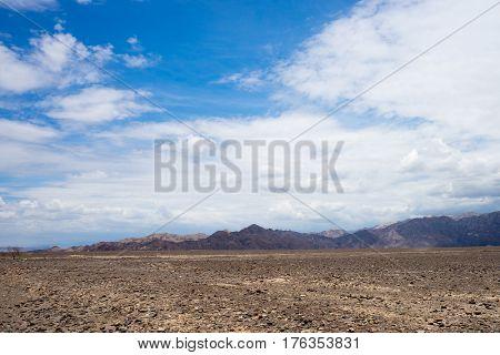 Peruvian Landscape Scenery