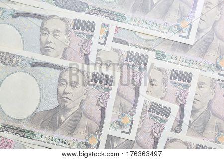 Banknotes of the Japanese yen- 10000 yen