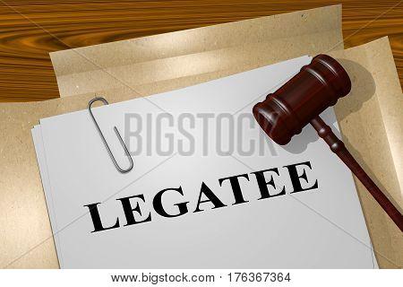 Legatee - Legal Concept