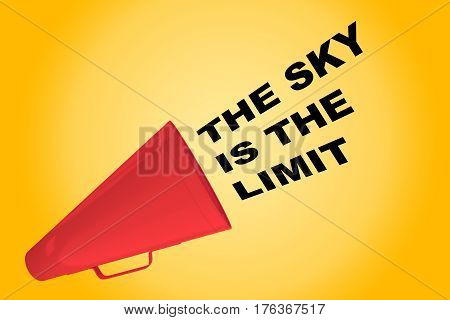 The Sky Is The Limit Concept