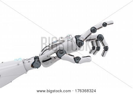 Robotic Hand Pointing